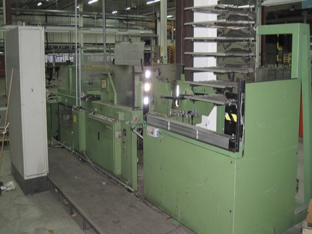 Box gluing and erecting machine KOHLER SK11 | BOHEMIA-GRAFIA