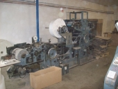 Used 3+1 Paper bag making machines for flatbags with printing units