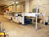 Used STEINEMANN Colibri 104 - UV High gloss varnishing machine