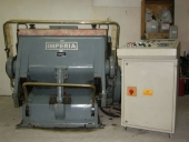 Used Flatbed Die cutter RABOLINI IMPERIA - hand platen