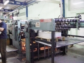 Used Full-Area Varnishing machine BILLHOEFER GULAMAT 5000