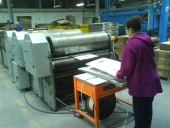 Used 3 Colours SHEET Flexo Printing Machine DCM IM3