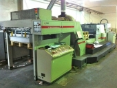 Used High speed UV spot varnishing machine TYMI ULTRASTAR 102