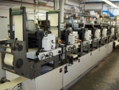 Used Label making and printing machine Nilpeter B200-6