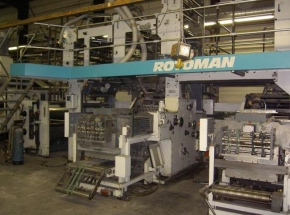 Web offset - Newspaper printing machine MAN ROTOMAN B