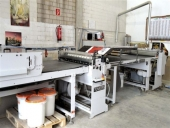 Used TUNKERS MKM Vorwarts S 1100 Laminator (sheet to sheet)