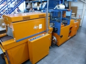 Used Sleeve packing machine with shrink tunnel DEM / France