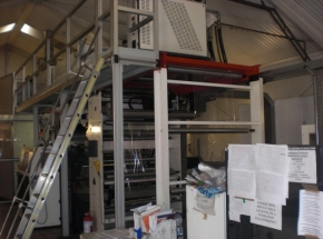8 colour Flexo CI printing machine W+H Primaflex CM gearless