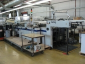 Used Screen UV Varnishing Steinemann HIBIS 104 (partial, full area)