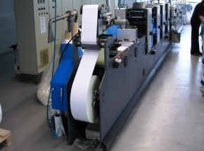 Label printer and diecutter Gallus TCS 250, 4 col.+Varnisher