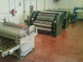 Used Corrugated line - small Corrugator - Corrugated board making machine