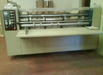 Used BOX making line - 3 machines for making kartons = 1 price