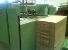 BOX making line - 3 machines for making kartons = 1 price