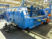 "Used Rotary DIE CUTTER ""SCHULE"" with 2 colour FLEXO printer"