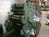 Used 3 colour Business form printing machine Muller Martini Pronto