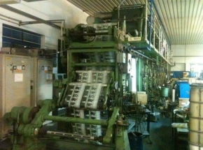 8 colour ROTOGRAVURE printing machine Cerutti Model R18