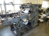Used 4 flexo colour F+K Express - Standard with Sheeter in-line