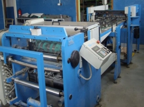 SHEETER - CUTTER  Soma for paper and ALUFILM, width: 780 mm