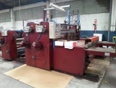 Used Printer slotter / Inliner CURIONI 2800, 2 colour flexo