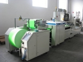 Used Sheeteng & size cutting machine GRAFIMA for Copy paper