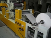 Used Table napkin production line - Printing Embossing Napkin Folder