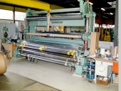 Used GOEBEL- SLITTER Rewinder for BOARD / PAPER / TISSUE