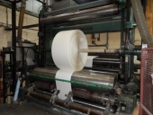 Used Goebel paper and carton slitter rewinder, width: 2600 mm