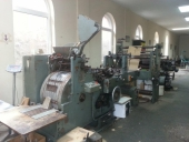 Used Paper bag making machine HONSEL flat & satchel paper bags