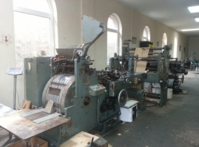 Paper bag making machine HONSEL flat & satchel paper bags