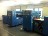 Used THERMAL Laminator TECHNOMAC - roll to sheet