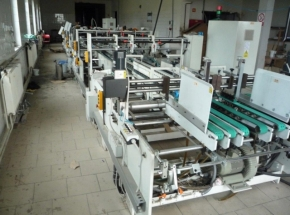 FOLDER GLUER ANDEN 1350 FS, 4+6 point gluing w. lockbottom