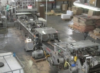 Used NEWLONG SOS carrybag machine sheet-fed with Twisted rope handl