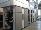 Used 8 colour Flexoprinter CI Miniflex-SOMA