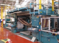 Used KROENERT PAK 600 parafining and hotmelt coating machine
