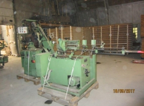 Spiral cardboard tube and cores producing machine Guschky – Kammann