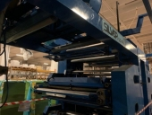 Used Flexo stack printing machine UTECO 4 Farben - print roll to roll