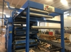 Flexo stack printing machine UTECO 4 Farben - print roll to roll