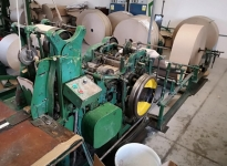 Used 3 CROSSBOTTOM paper bags making machines