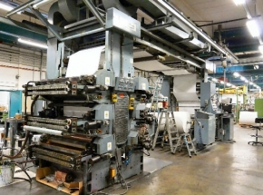 Flexo printing machine CMF Beta Compact