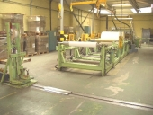 Used Complete Size Cutting and Sheeeting Line ECH WILL SLK 130