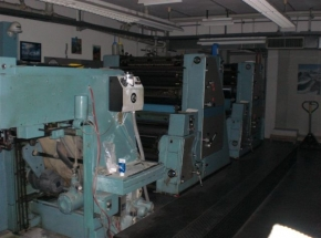 MAN-Roland Favorit - 4 colour offset printing machine