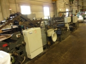 Used Very special paper converting m/c HONSEL  GF 1