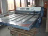 Used Automatic Flat Bed Die Cutter Roller Press SHEAR-LINE Super