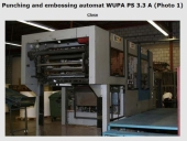 Used Die Cutter WUPA PS 3.3 A