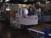 Used Die cutting with 3 Flexo colours BOBST 1575 (year 1974)