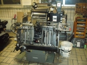 Used Cylinder Press Die Cutter Heidelberg OHT with Hot Foil System