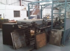 BOBST AV3 reel fed die cutting, stripping and auto stacking
