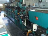 Used Letterpress NILPETER B200 Label printing machine
