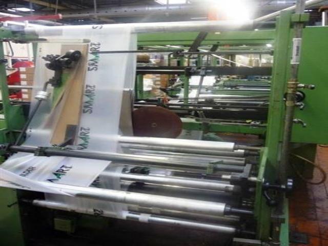 Plastic Bags Making Machine Lehmacher Intermat Bohemia