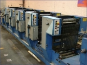 Used Business form printing machine ROTATEK MP 150, 5 colour